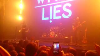 White lies - Morning in LA (live 19.04.2017 Moscow)