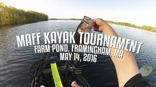 MAFF Kayak Tournament - Farm Pond, Framingham, MA