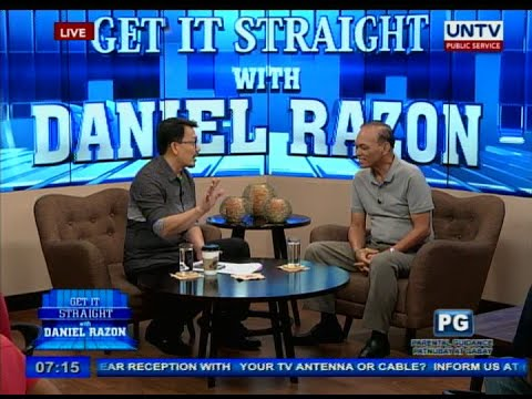 UNTV: Ret. Gen. Dionisio Santiago on Get it Straight