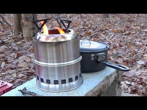 WOLFYOK Wood Gasifier Camp Stove