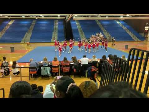 Annandale High School Varsity Cheer 2019 (Districts)