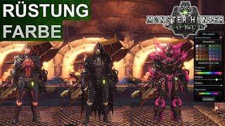 Monster Hunter World: Rüstungs-Farbe ändern (Deutsch/German)