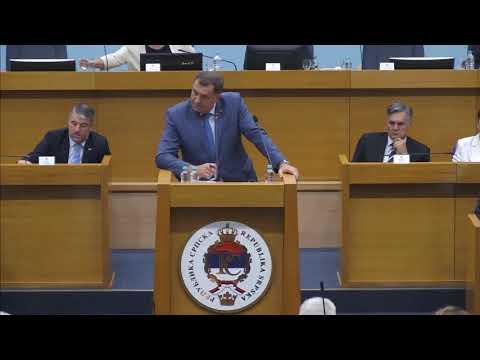 Milorad Dodik - Napraviti nove zakone i eliminisiti opoziciju iz Vlade RS (BN Televizija 2019) HD