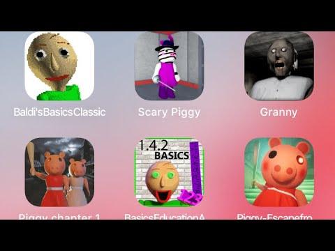 Baldi Granny Piggy Mod Fgteev Hello Neighbor Baldi S Basics