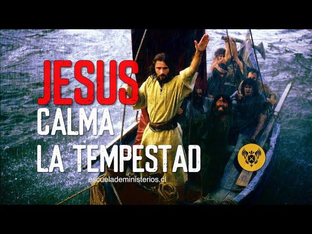 Jesus Calma La Tempestad   - HD 1080p