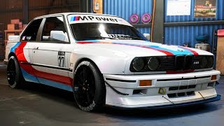BMW E30 M3 BUILD! - Abandoned Car #4 - Need for Speed: Payback