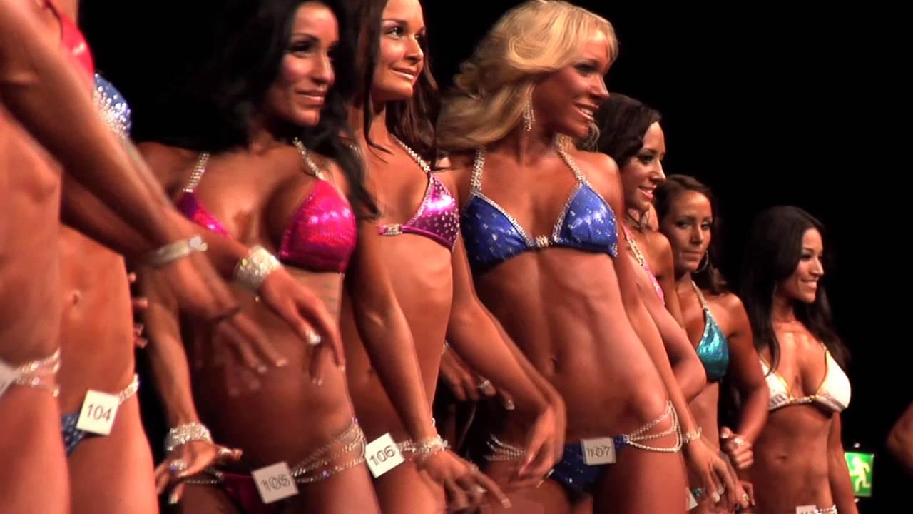 body fitness tävling