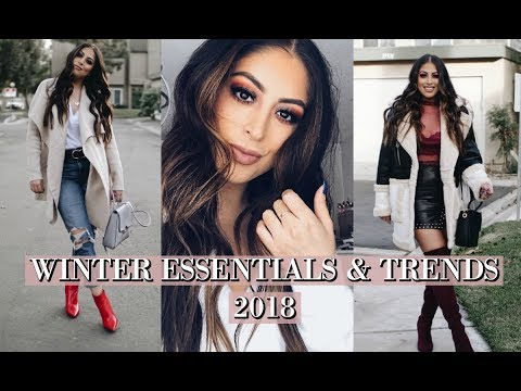 WINTER FASHION WARDROBE ESSENTIALS & TRENDS 20172018: AFFORDABLE TRENDS TO FOLLOW