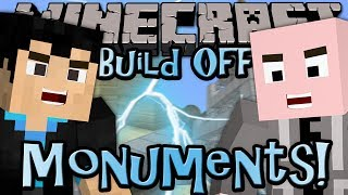 Minecraft: Build Off - MONUMENTS - w/ Vasehh (9/15)