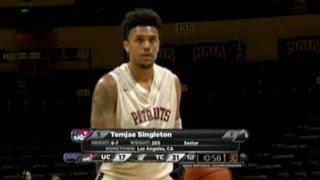 TJ Singleton National/Conference Tourney Highlights 15-16