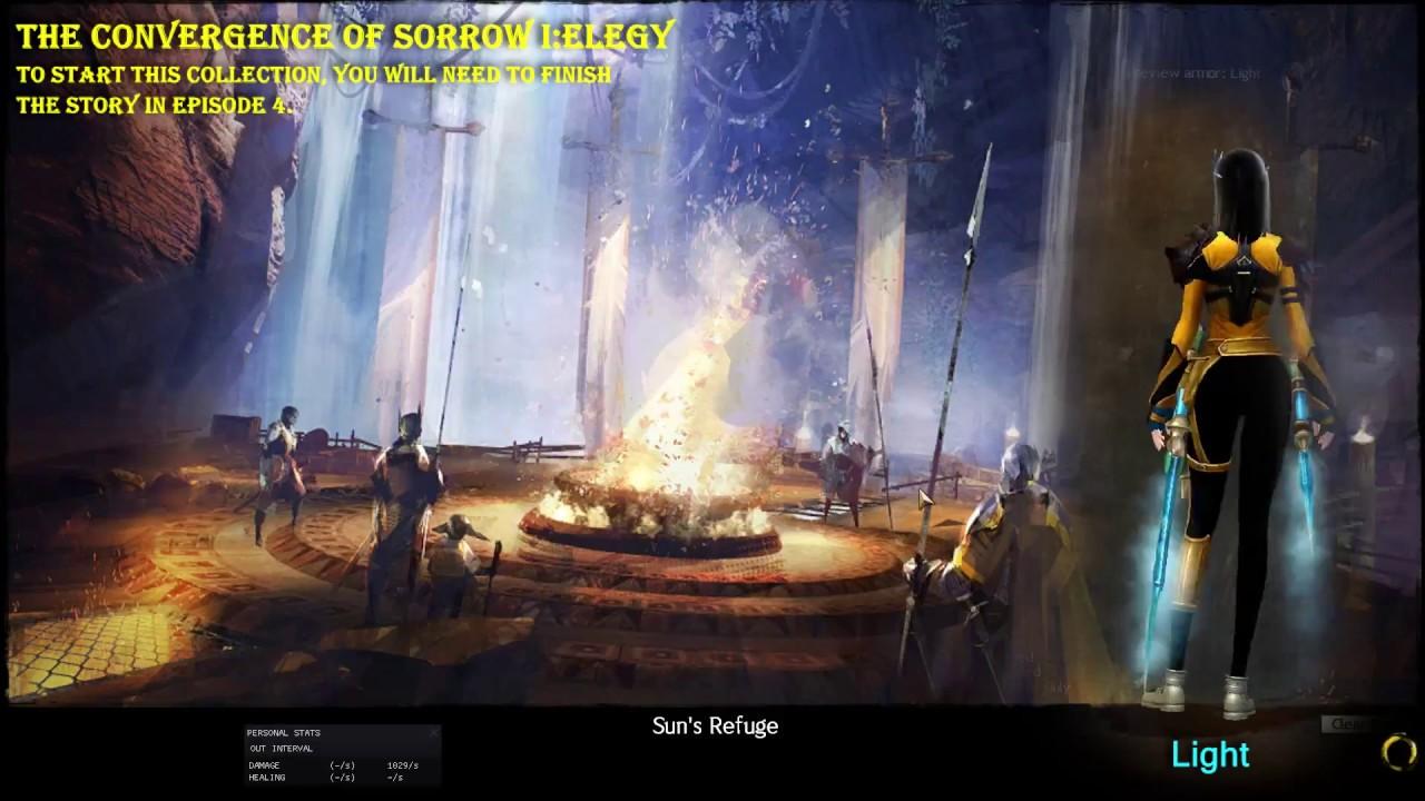 GW2 The Convergence of Sorrow I: Elegy ⌚ Fast Guide