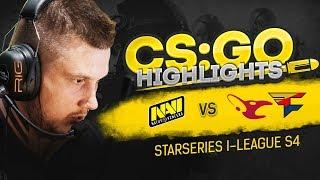 CSGO Highlights: NAVI vs mousesports, FaZe @ StarSeries i-League S4