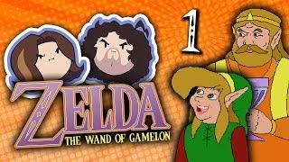 Zelda The Wand of Gamelon: Best Zelda Game - PART 1 - Game Grumps