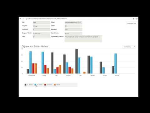 Information Visualization - Student Information Platform