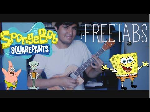 Guitar ukulele tabs guitar pro : WN - spongebob theme song fingerstyle guitar pro tabs pdf tab