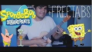 Spongebob Squarepants (Ending Theme) [+TABS] - Fingerstyle Ukulele Cover by Luis Fascinetto
