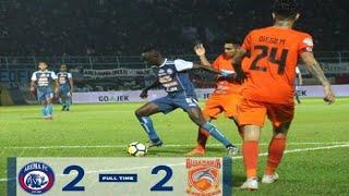 Arema FC Vs Borneo FC (2-2) : Kado Yang Kurang Manis