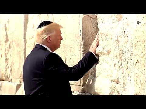 Trump becomes the 1st POTUS to pray at Western Wall in Jerusalem
