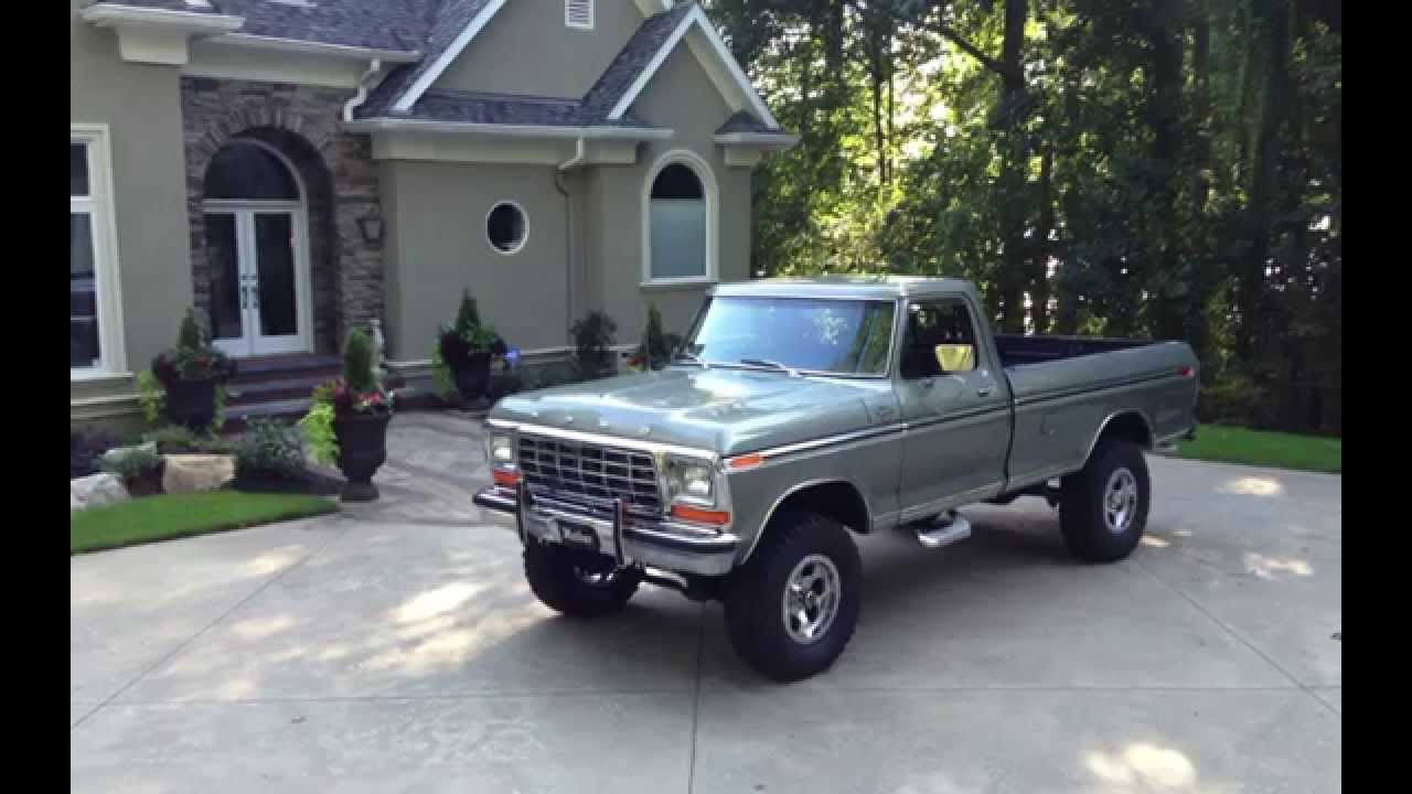 1979 ford f 150 show truck youtube