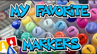 Which Markers Are My Favorite?