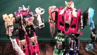 Gogo Sentai Boukenger Super, Ultimate Daibouken Review (Operation Overdrive Drivemax Ultrazord)