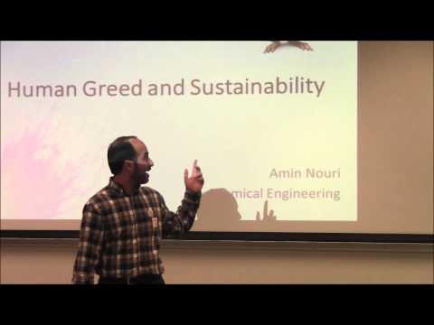FIREtalks: Human Greed and Sustainability