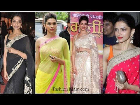 Best Sarees Of Deepika Padukone thumbnail