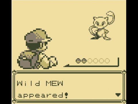 How To Catch Mew In Pokemon Red/Blue With No Cheats