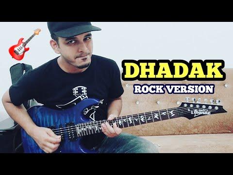 Dhadak Guitar Cover with Tabs & Chords | instrumental | ELECTRIC GUITAR | FuZaiL Xiddiqui