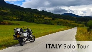Italy - An Epic Solo Motorcycle Tour (Summer 2015)