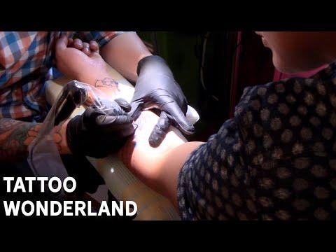 Tattoo Wonderland - From Honduras to New York City Tattoo Time Lapse