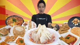 Indian Food Mukbang! AYCE Prata Buffet in Singapore!