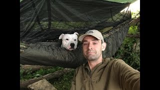 2 nights wild camping and checking on some old camps
