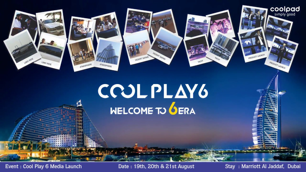 Coolpad Cool Play 6 Dubai Launch Event