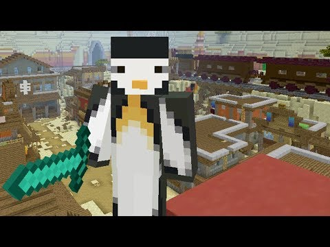 MURDER MYSTERY INSIDE THE MINECRAFT BATTLE MINI-GAME!