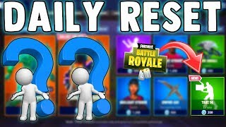 2 LEGENDARY SKINS & NEW EMOTE!! Fortnite Daily Reset & NEW Items in Item Shop