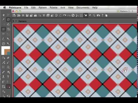 Knit Software Textile Cad Program Youtube