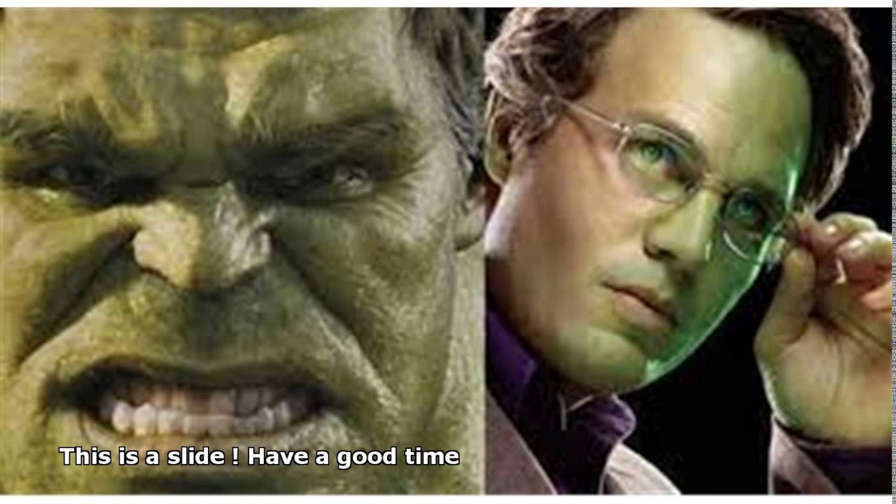 edward norton hulk vs ...