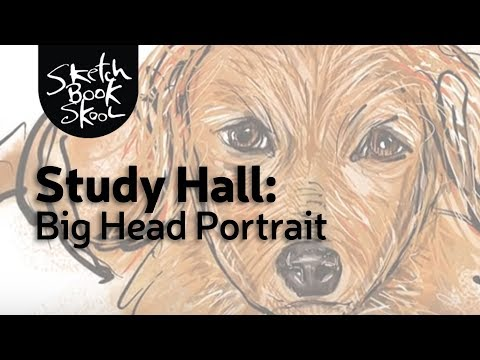 Study Hall: Big-Head Portrait
