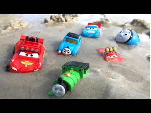 Disney Cars Toys Lightning McQueen Thomas and Friends Trains Percy