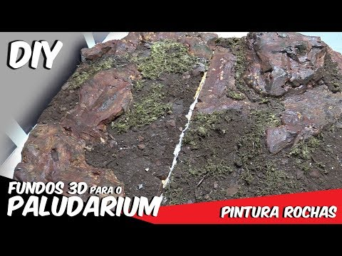 DIY- Pintura das Rochas - Fundos para PALUDÁRIO 4K