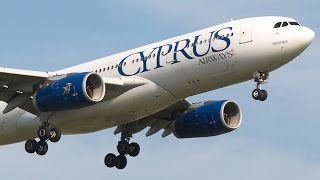 Moments Onboard Cyprus Airways - Inflight, Takeoffs and Landings - Cockpit Views, Plane Spotting