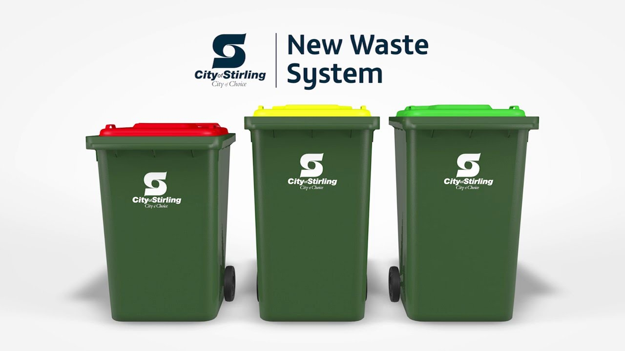 The City Of Stirling S Three Bin Waste System Youtube