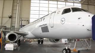 Flugzeugtaufe der E 195 D AEBE auf den Namen Zwiesel