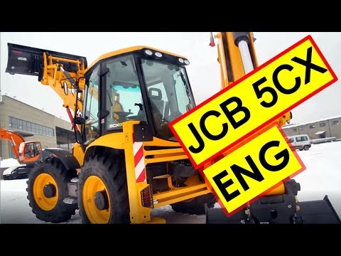 JCB 5CX Backhoe Loader Review