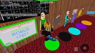 How to get 1st prize egg in roblox baldi's basics 3D morph rp (not by textick) (by hellothatburp )