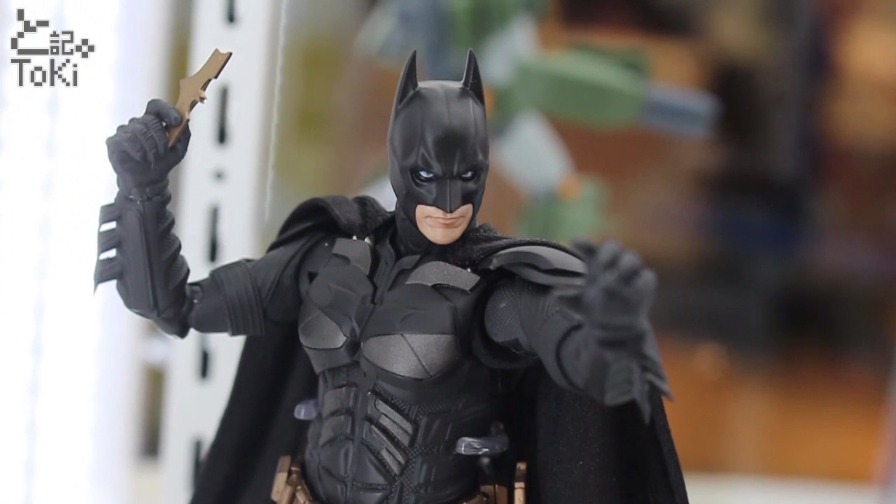 BATPOD Bandai Tamashii S.H.Figuarts Action Figure COMBO Batman The Dark Knight