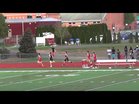 Hillhouse, Amity, Cheshire High School Track & Field meet - 1600 meter - May 5, 2014