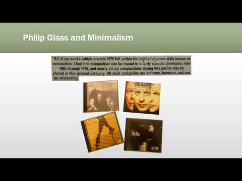 A Journey Into Minimalist Music