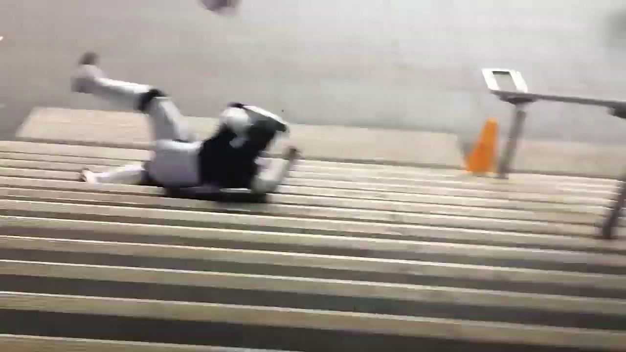 Guy Shoots Stormtrooper and Falls Downstairs
